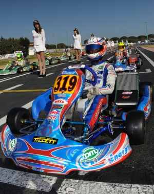 Kart Energy mod. Kinetic 2015, Iame X30 Senior