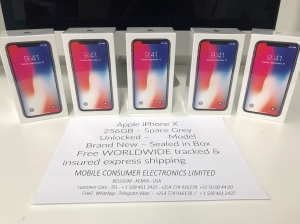 Apple iPhone X 256GB Grigio siderale smartphone