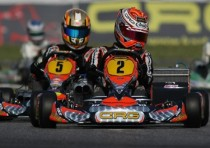 crg counter attacks with max verstappen kz1 the first final of the wsk euro series sarno