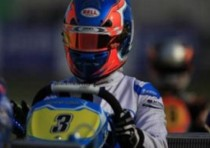 ricciardo kart castelletto for the inaugural round of the wsk super master series