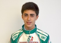 tony kart racing team david vidales pilota ok junior