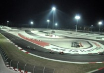 torna wsk night edition gara notturna creata wsk promotion all adria karting raceway
