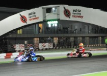 wsk night edition accende notti dell adria karting raceway
