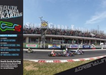 grande cartellone agonistico autunno south garda karting