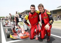 maranello kart svezia mosca zanchetta nell international kz2 super cup