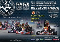 campionato europeo cik fia prosegue seconda tappa genk b